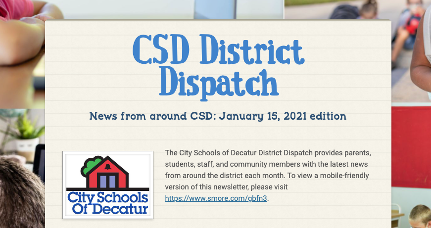 January District Dispatch